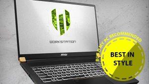 Best in Style Workstation Laptop