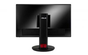 Asus 24 Inch Monitor Back View