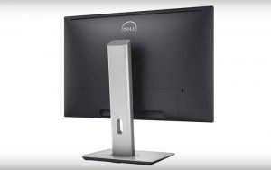 Dell 24 Inch Monitor Back View
