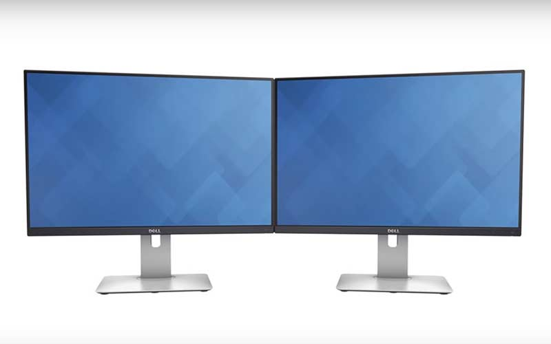 Dell 24 Inch Monitor Side by Side