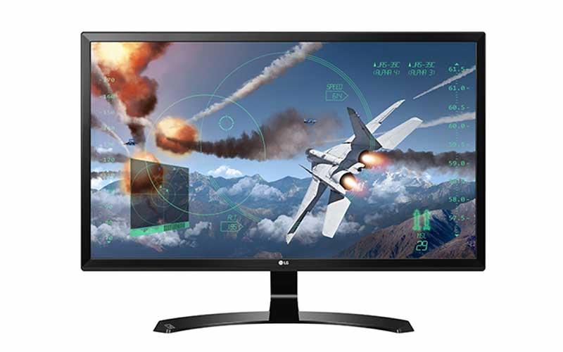 LG 24-Inch 4K UHD IPS Monitor