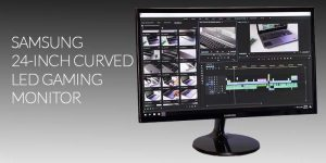 Samsung 24-inch Curved LED Gaming Monitor