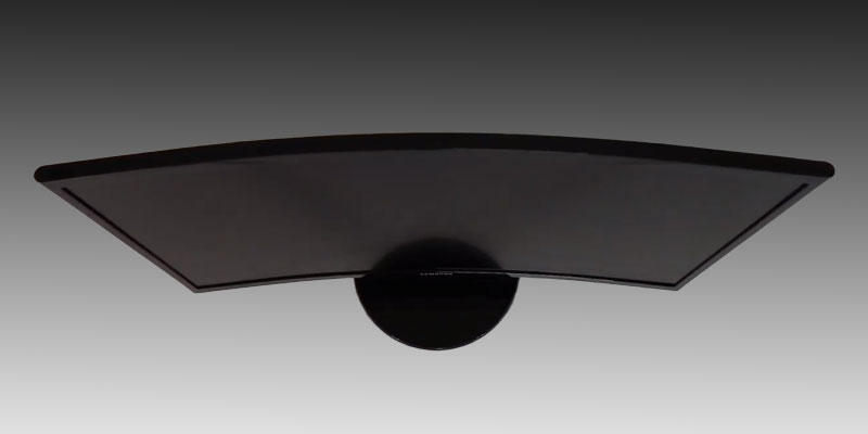 Samsung 24-inch Curved LED Gaming Monitor Top View