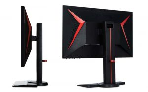 ViewSonic 24 Inch 1080p Gaming Monitor Side View