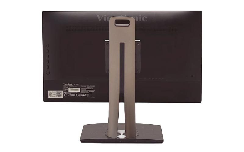 ViewSonic Professional 24 inch Monitor Back View
