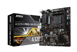 MSI ProSeries A320M PRO-VH PLUS micro-ATX Motherboard