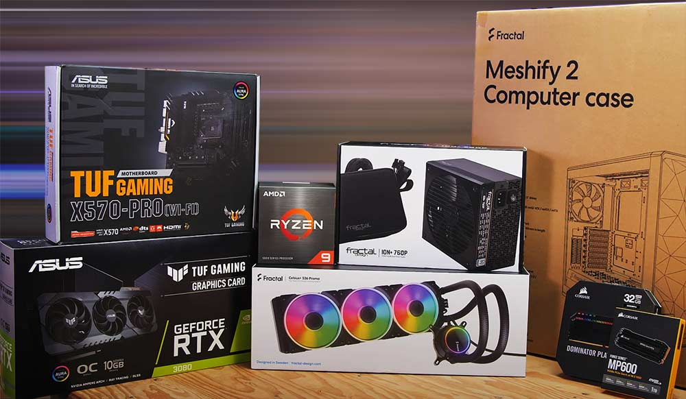 build my pc in 2021